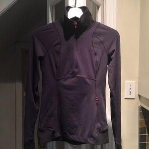 Lululemon Navy Zip Sweater Size 4